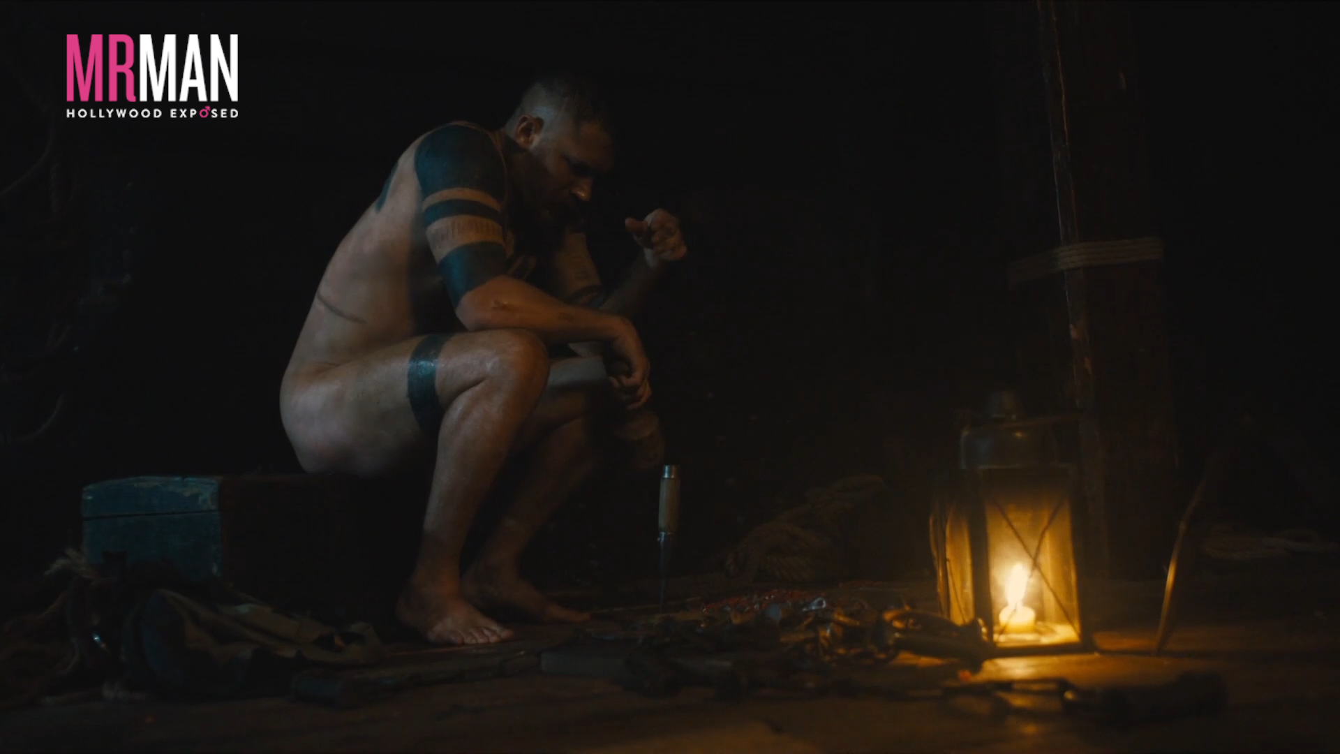 Tom Hardy's First Nudity From Taboo!