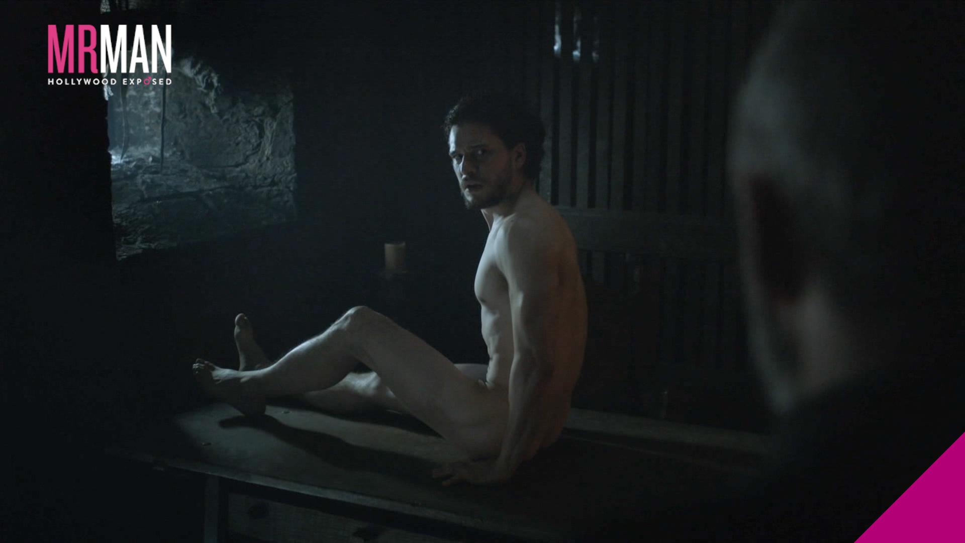 Harington is Finally Bare-ington on Game of Thrones