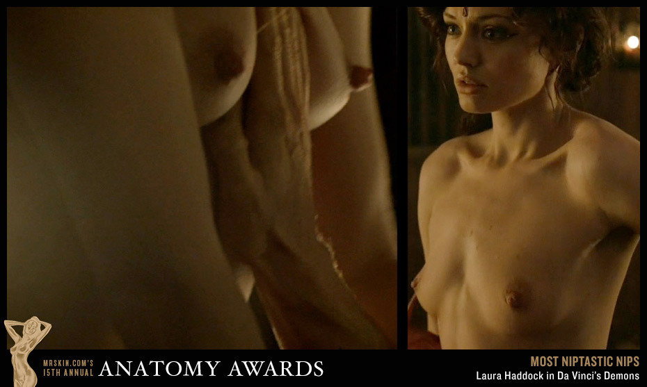 Laura Haddock Accepts Her Anatomy Award On The Heidi Frank Show
