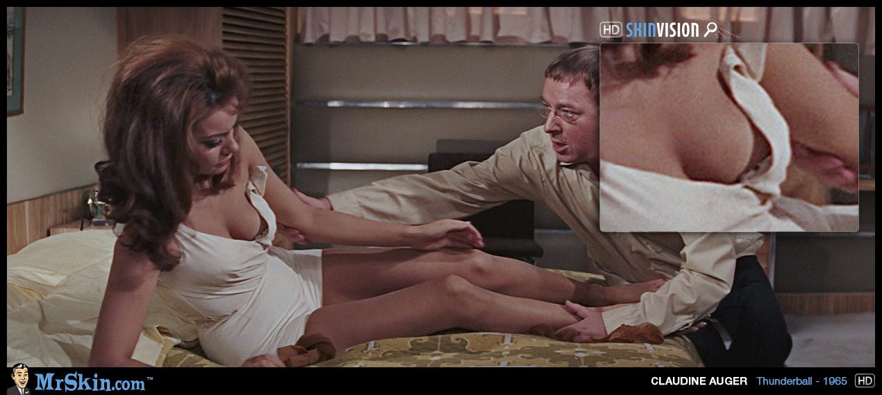James bond nude scene